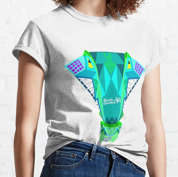 Iron Gwazi Head (Top View) Classic T-Shirt
