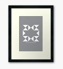 Design 205 Framed Print