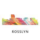 Rosslyn, Virginia Skyline WB1 von Marlene Watson