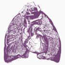 Lung Language - purple by Madison Cowles Serna