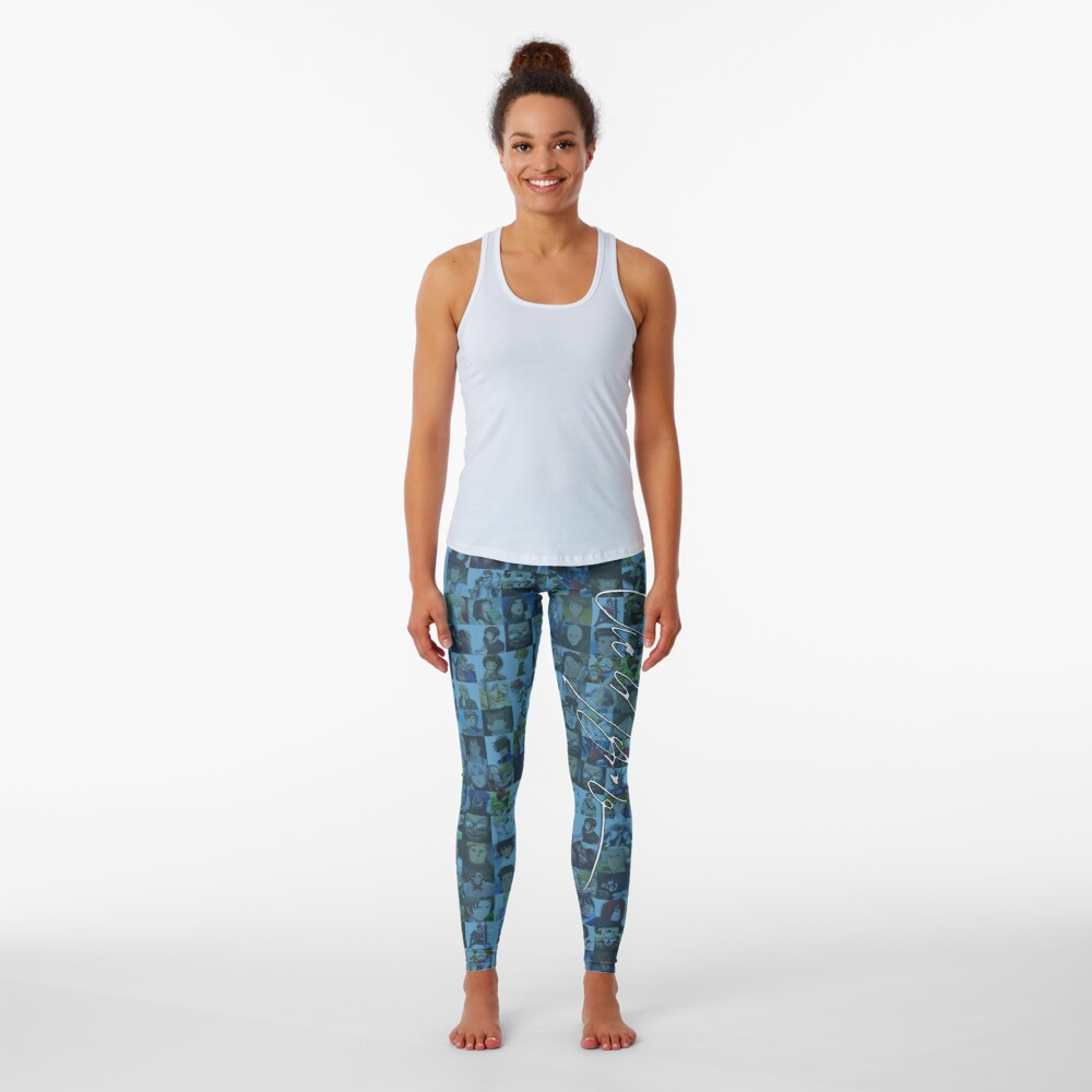 One Man, Many Voices Leggings