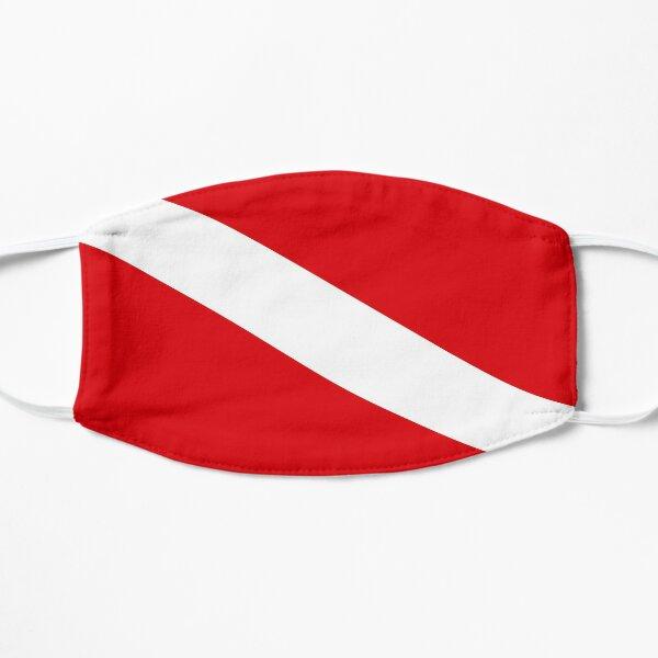 Scuba Diving Flag Flat Mask