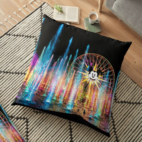 World of Color Floor Pillow