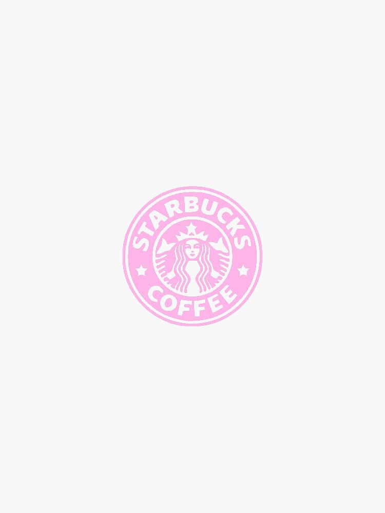 pink starbucks logo by Jsmoll