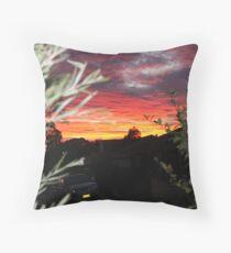 Goulburn Sunset Throw Pillow