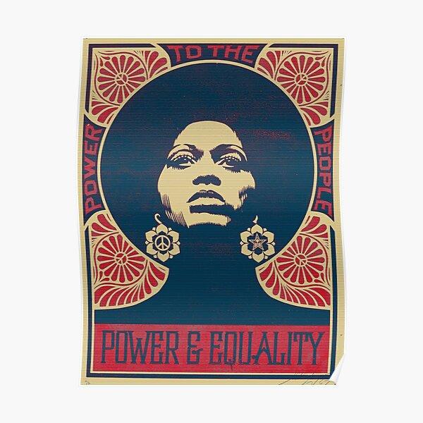 Angela Davis 1971 Original Edition Poster
