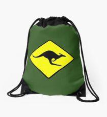 Kangaroo Drawstring Bag