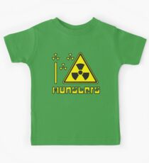 I LOVE MONSTERS T-shirt Kids Clothes