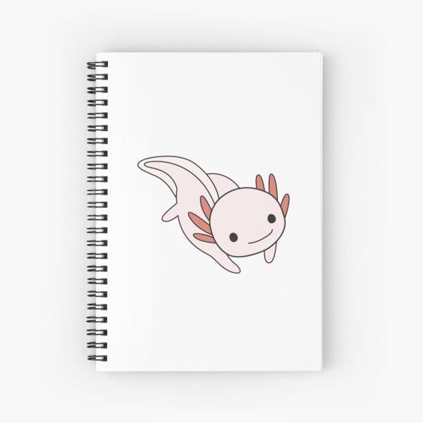 Axolotl rosa Cuaderno de espiral