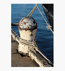 Mooring Photographic Print