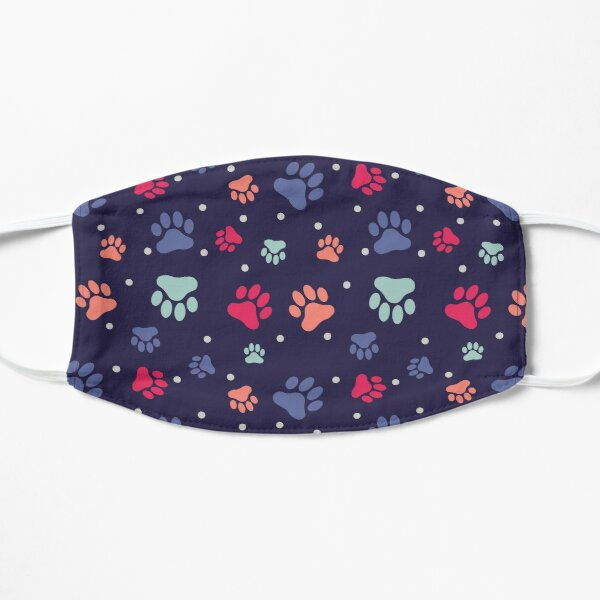 Dog Paw Pattern Mask