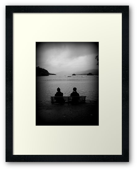 Couple at Lake Windermere by Christine Hingley