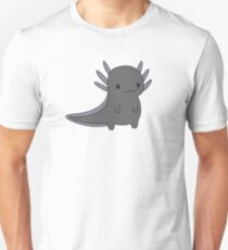 Black Axolotl T-Shirt