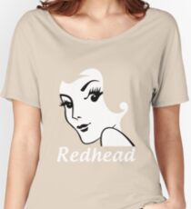 Miss Redhead (text) [iPad / Phone cases / Prints / Clothing / Decor] Women's Relaxed Fit T-Shirt