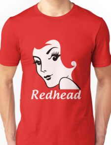 Miss Redhead (text) [iPhone / iPad / iPod case | Tshirt | Print] Unisex T-Shirt