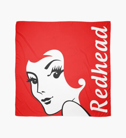 Miss Redhead (text) [iPhone / iPad / iPod case | Tshirt | Print] Scarf