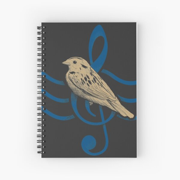 Songbird Spiral Notebook