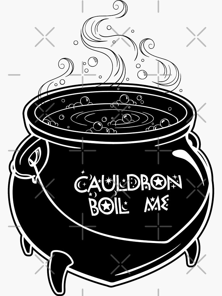 Cauldron Boil Me by juliarosenbe