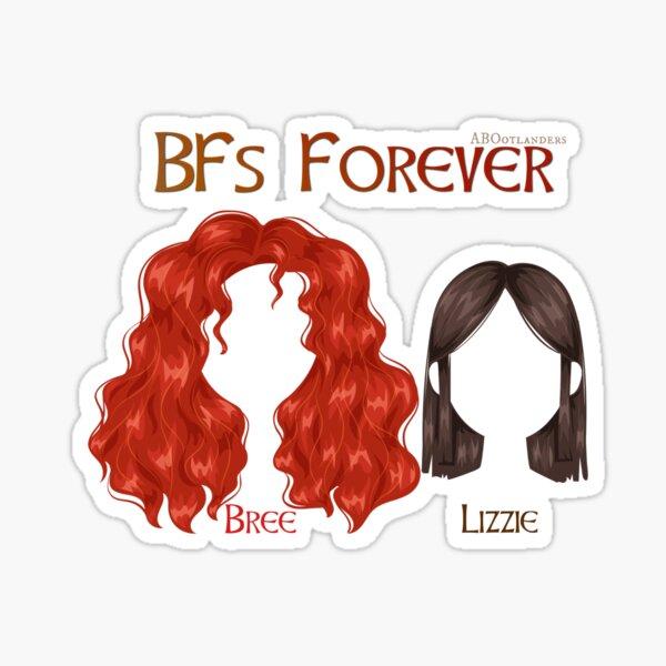 BFs Forever Sticker