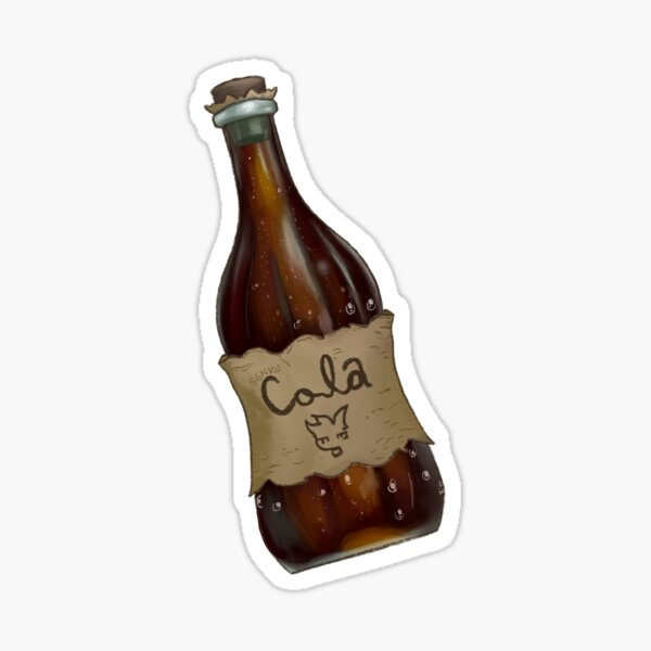Senku Cola soda Sticker