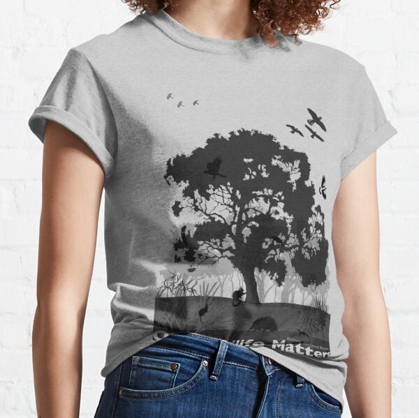 Our Wildlife Matters - Support Native Animal Rescue Classic T-Shirt