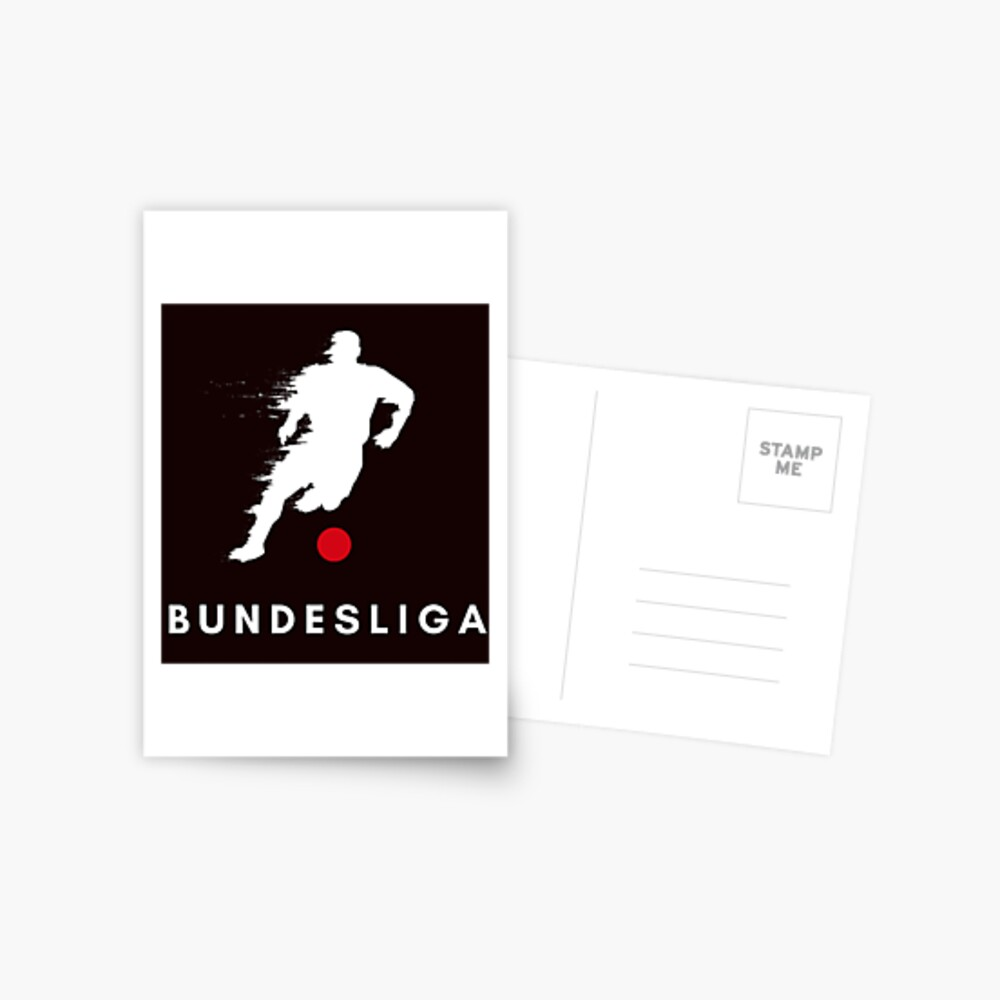 bundesliga logo design 2020 postcard by amineangx redbubble bundesliga logo design 2020 postcard by amineangx redbubble