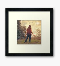 From little things big things grow Framed Print