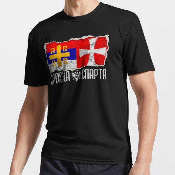 Srpska Sparta - Ne damo svetinje majica Active T-Shirt