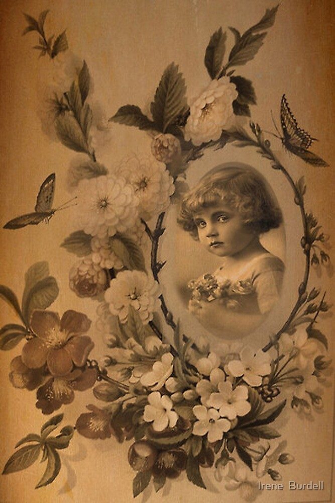 Vintage Childhood. by Irene  Burdell