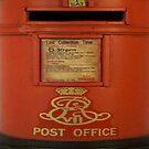Royal mail box by Happiness         Desiree