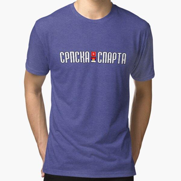 Srpska Sparta - majica Tri-blend T-Shirt