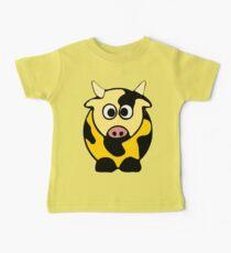 ღ°㋡Cute Brindled Golden Cow Clothing & Stickers㋡ღ° Baby Tee