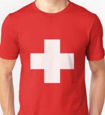 Swiss Flag T-shirt Unisex T-Shirt