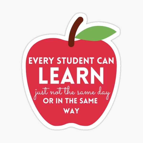 Every Student Can Sticker