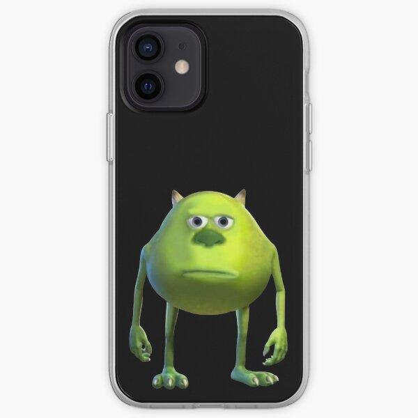 Mike Wazowski Sulivan Cara Meme Funda blanda para iPhone
