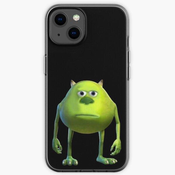 Mike Wazowski Sulivan Face Meme iPhone Soft Case