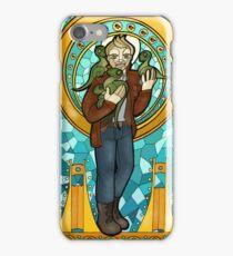 St. Christopher of the Velociraptors iPhone Case/Skin