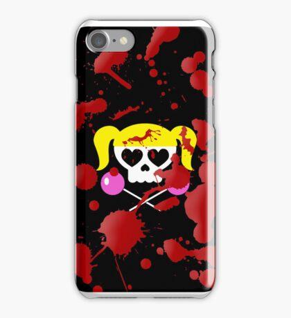 Lollipop Chainsaw She Skull iPhone Case/Skin