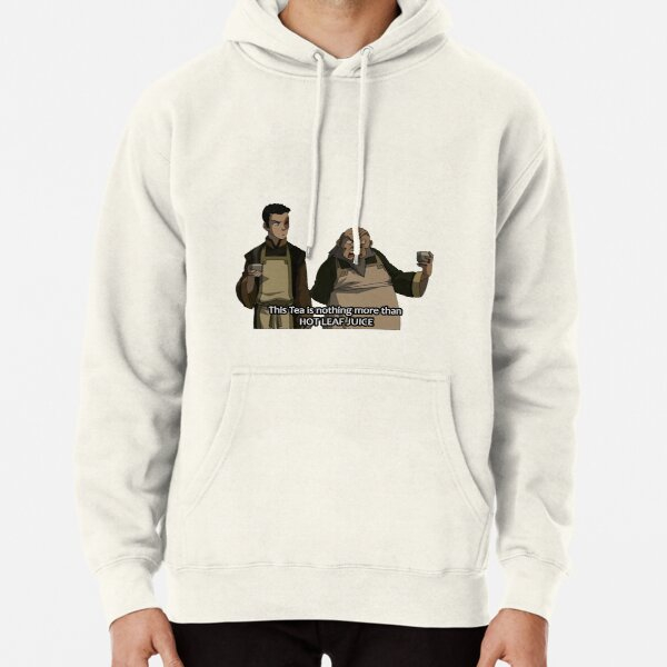 HOT LEAF JUICE Zuko and Iroh Avatar Pullover Hoodie