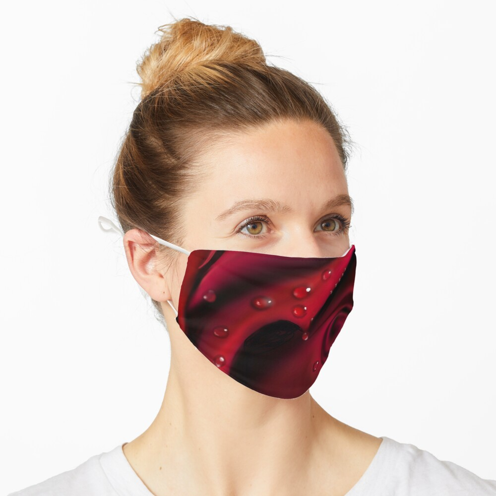 Red Rose Mask