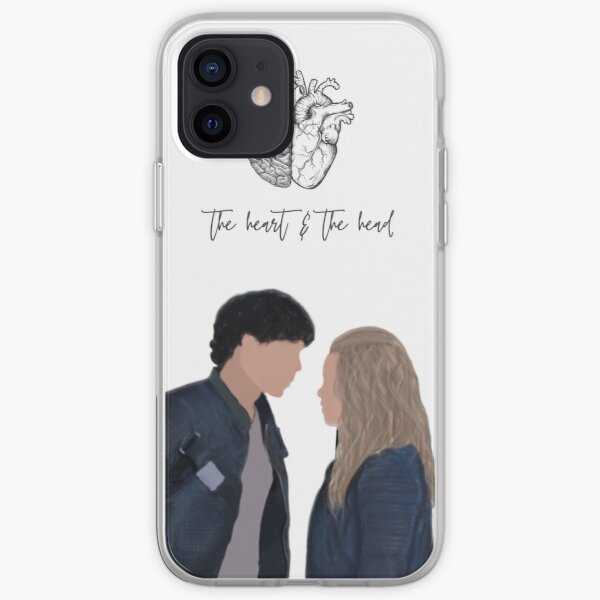 Cita de Bellarke Funda blanda para iPhone