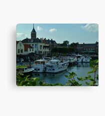 Willemstad, Holland Canvas Print
