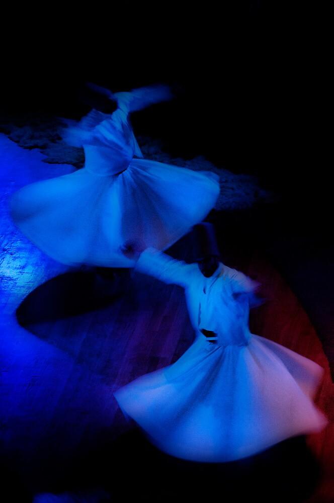 Whirling Derwish - 3 by Okan YILMAZ