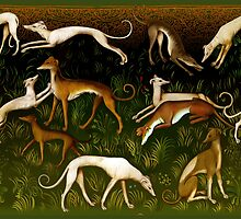 Greyhounds by Ivy Izzard