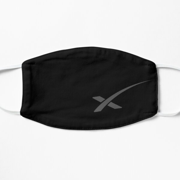 Space Merch, SpaceX Merch, Elon Musk DM-2 Demo-2 Mission, X Mask, SpaceX  Mask