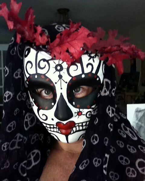 Achat/Vente soldes haut de gamme pas cher Day of the Dead Sugar Skull Catrina Mask by Suzi Linden