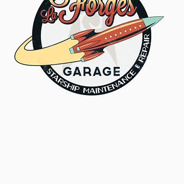 La Forge's Garage by BoomShirts