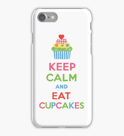 Keep Calm and Eat Cupcakes 5   3G  4G  4s iPhone case  iPhone Case/Skin