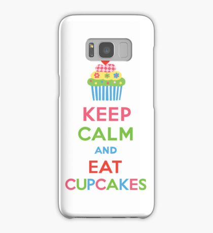 Keep Calm and Eat Cupcakes 5   3G  4G  4s iPhone case  Samsung Galaxy Case/Skin