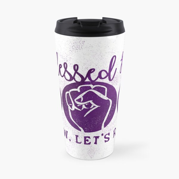 Blessed Be Riot Travel Mug